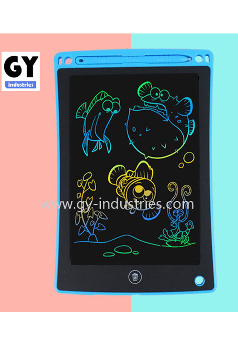 8.5 inch LCD Handwriting Tablet//Pad//Board Business Memo Meeting Graphics Tablet Kids Drawing Board Family Memo Board 8.5, Powder Blue